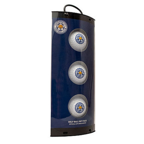 Leicester City Golf Balls Gift Set - White - Official Fc Football Licensed -  golf leicester city balls official fc football gift licensed product