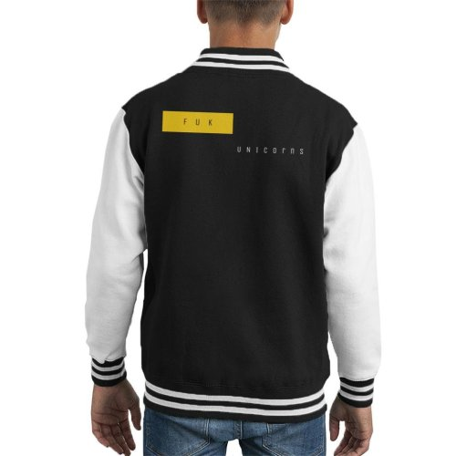 Fuk Unicorns Kid's Varsity Jacket