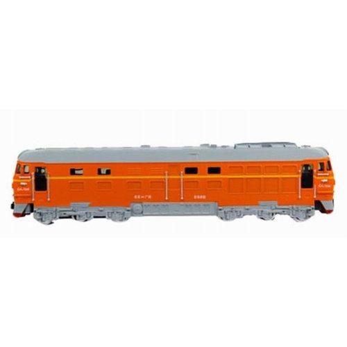 Simulation Locomotive Toy Model Trains Toy Train, Orange (23*4*5.5CM)