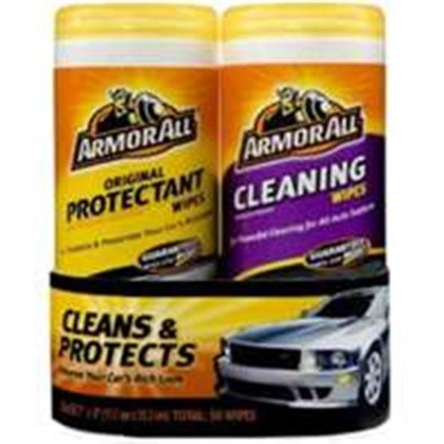 Armored Autogroup 10848 Armor All Cleaning Wipe Pack