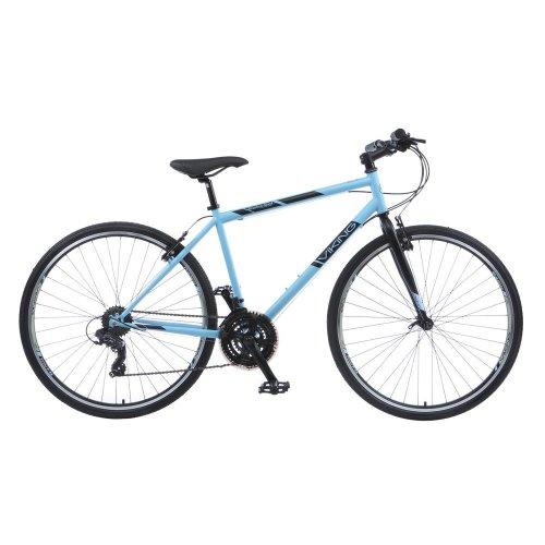 "Viking Bourbon Street Gents 700c 21 Speed Urban Hybrid Bike Bicycle 22"""