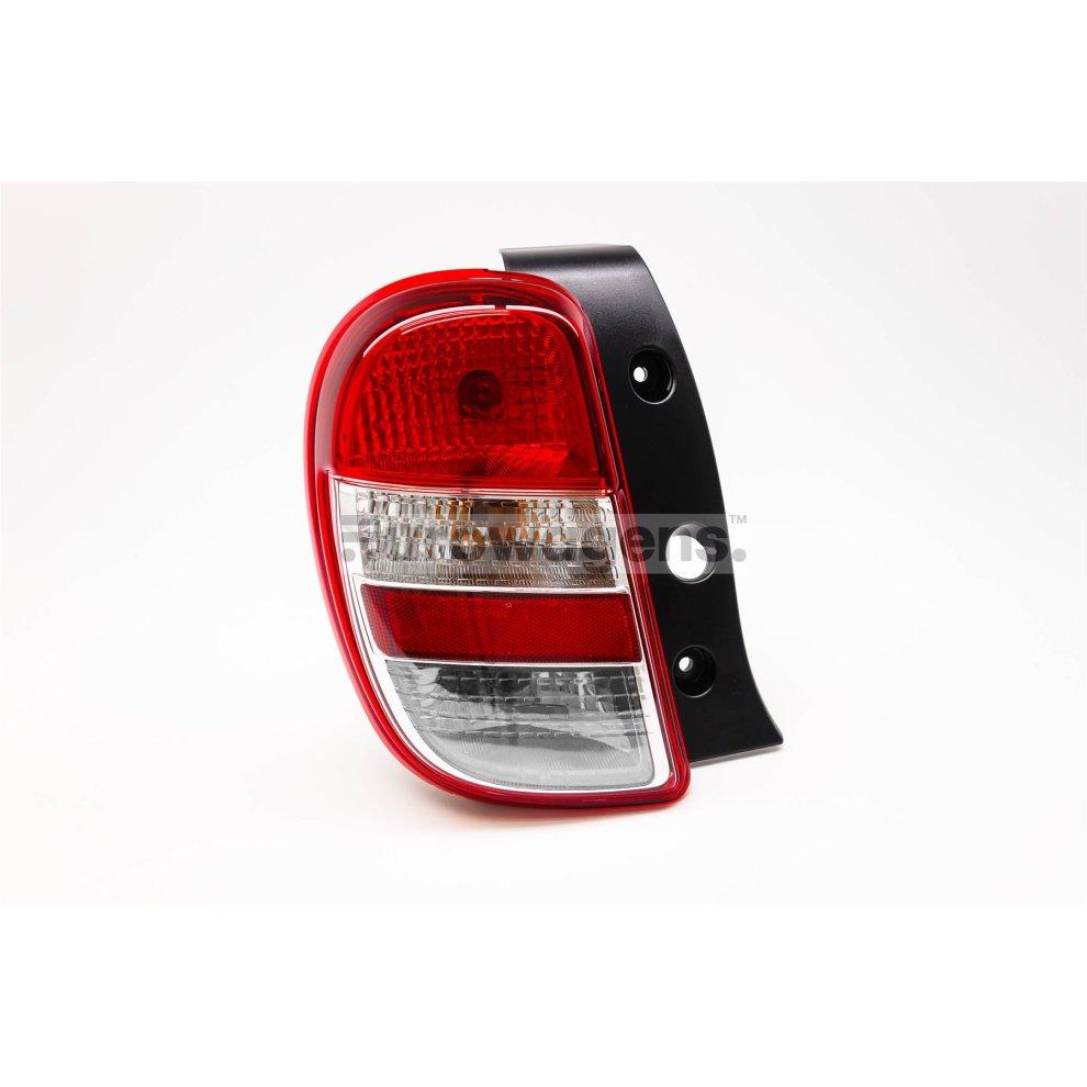 Nissan Qashqai 10-14 LED Rear Tail Light Lamp Left Passenger Near Side N//S