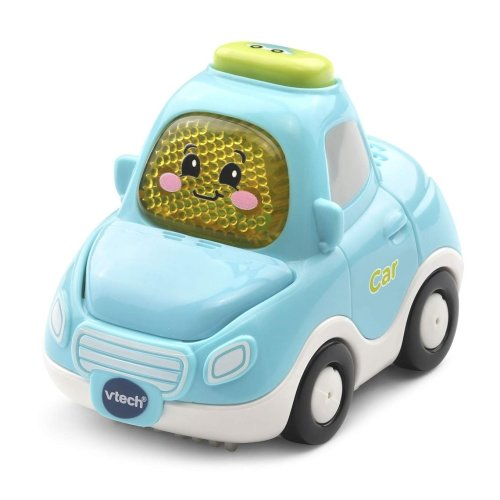 Vtech Toot-Toot Drivers Car Baby Blue With 3 Songs and 6 Melodies Preschool Toy Ages 1- 5 Years