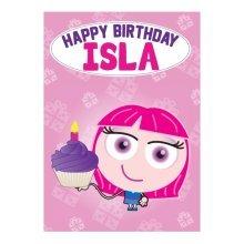 Birthday Card - Isla