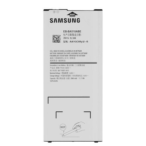 Battery for Samsung Galaxy A5 2016 EB-BA510ABE 2900mAh Replacement Battery
