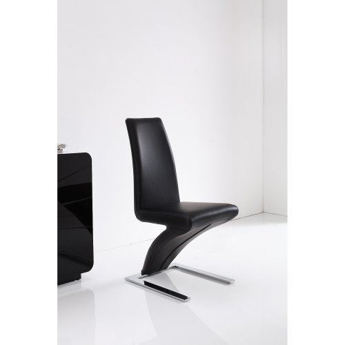 Zed Style Faux Leather Dining Chair