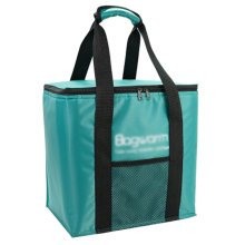 Outdoor Picnic Bag  Large Soft Cooler Insulated Picnic Lunch  Bag for Grocery, Camping, Car, #M