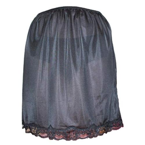 "Half Slip Petticoat 24"" Length. by Marlon (20 - 22, BLACK)"