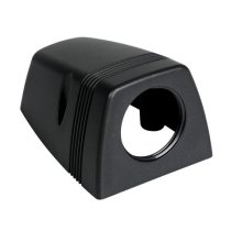 Black Surface Mount Pod For Individual Sockets - Lampa Socket Housing 1 -  lampa socket housing 1 connection ext surface mount case
