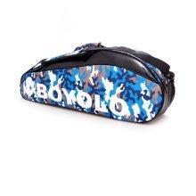 Single Shoulder Waterproof And Dustproof Racket Bag 6 Racquet Bag,Blue