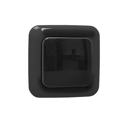 Byron SH5-TSW-C Home Easy Outdoor Remote Control 1G Single Switch Black