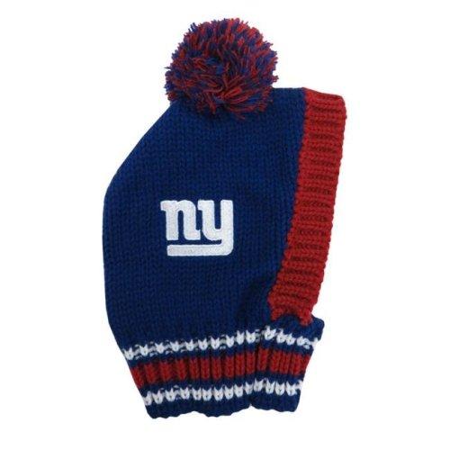 572d39ee1fbf23 Little Earth 320125-GIAN-M NFL Team Pet Knit Hat, New York Giants - Medium  on OnBuy
