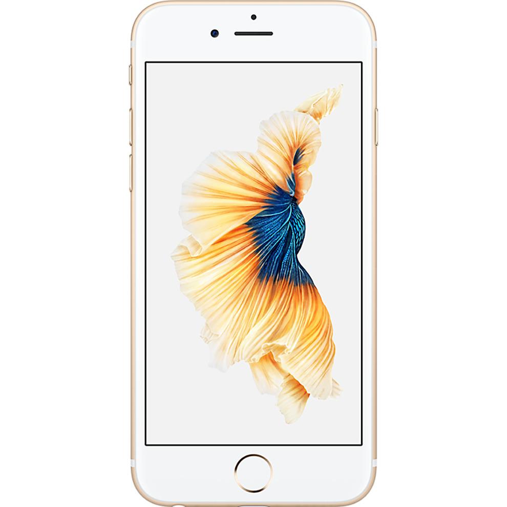 Orange, 16GB Apple iPhone 6s - Gold