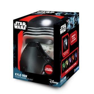 Star Wars Official Illumi-Mates Kylo Ren Bedside Lamp