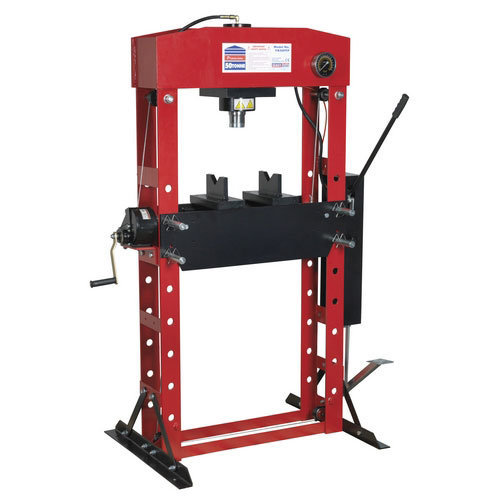 Sealey YK50FFP 50tonne Floor Type Premier Hydraulic Press with Foot Pedal