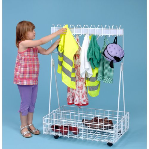Children's Mobile Cloakroom A1170 | Portable Kids' Coat Rack
