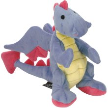 goDog Dragons with Chew Guard Large-Periwinkle