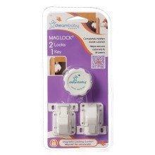 Dreambaby Magnetic Locks Set (2 Locks & 1 Key)