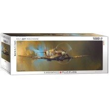 Eg60100952 - Eurographics Puzzle 1000 Pc - Spitfire by Barrie A.f. Clark