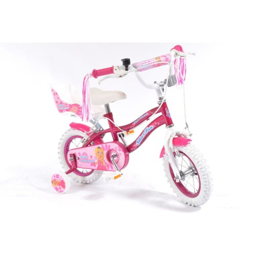 "12"" Pink Princess KIDS BIKE - Childrens SILVERFOX (Girls Bicycle) Ages: 3 - 5"