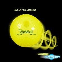 Nightball Football ~ Yellow ~ Light Up Football