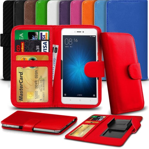 """iTronixs - HTC U Ultra (5.7"""") High Quality Clamp Style PU Leather Wallet Case Cover"""