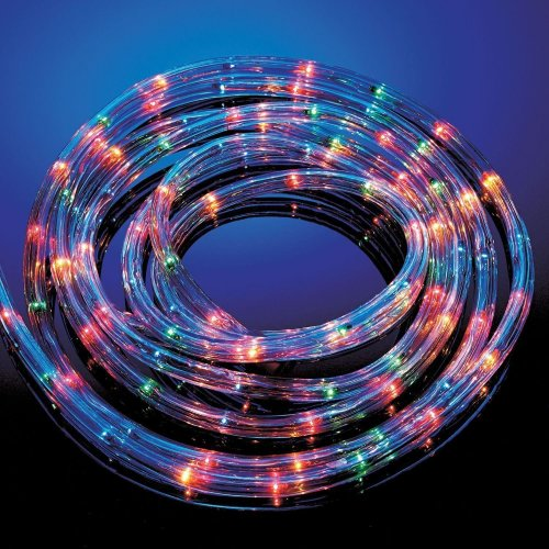 Sentik 25M Multi Coloured Rope Light Outdoor Indoor Party Lights Christmas Xmas