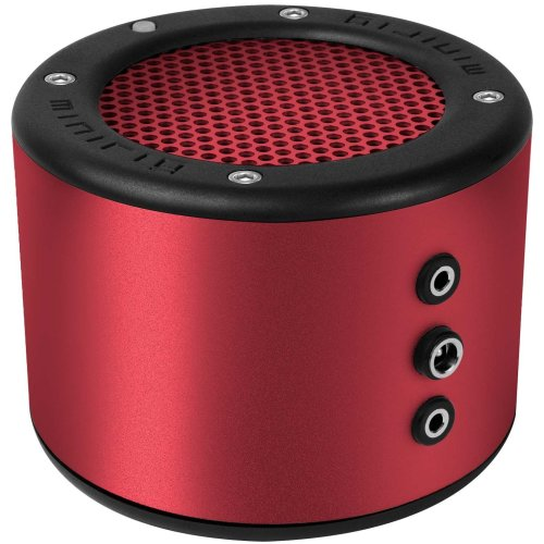 MINIRIG 2 Portable Rechargeable Bluetooth Speaker - 80 Hour Battery - Premium Stereo Sound - Red