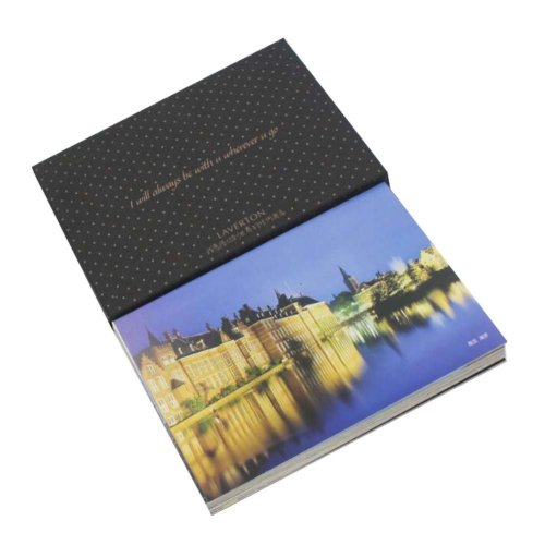 Postcard Hand Set Collection Set City View Painting Greeting Card  #7