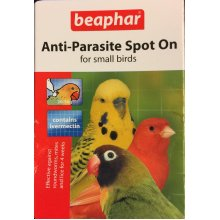 anti parasite spot on for small birds