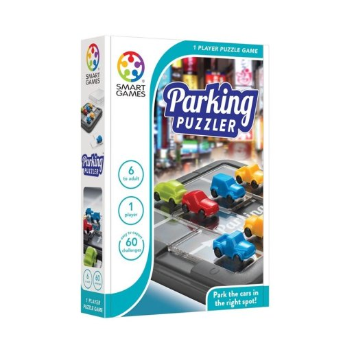 SmartGames Parking Puzzler Car One Player Puzzle Game
