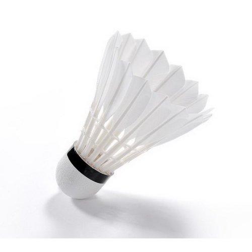 3 Packs Optimal03 Championship Badminton Shuttlecocks White Feather