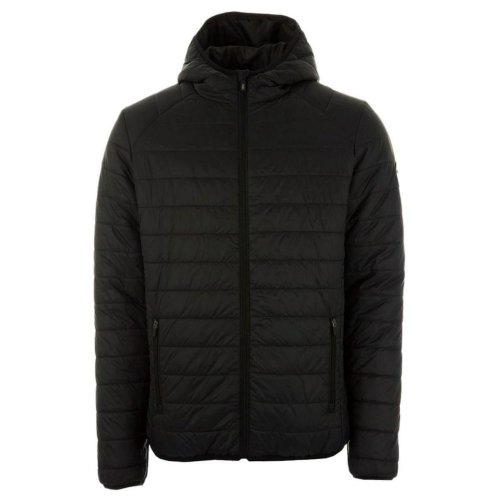 Henleys Men's Destruct Hooded Padded Coat Jacket