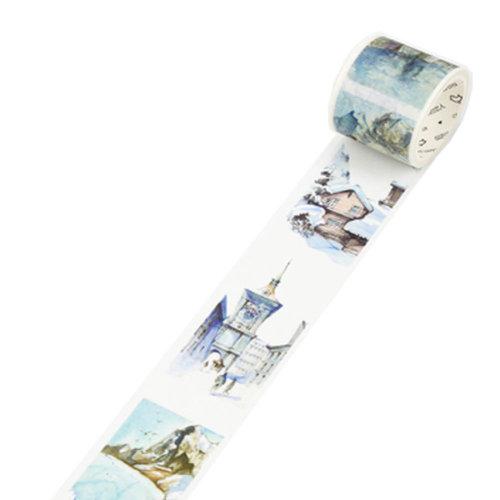 Decorative Craft Masking Tape DIY Crafts Gift Washi Tape 40mmx7m,Switzerland