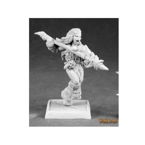 Reaper Miniatures Warlord 14600 Kaya the Reaper Female Barbarian Sergeant