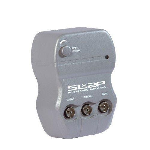 SLx2P Plug in Aerial Amplifier - 2 Way Digital Freeview TV