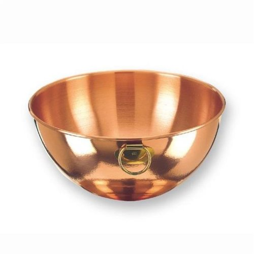 Old Dutch 767 Solid Copper Beating Bowl  4.5 Qt.