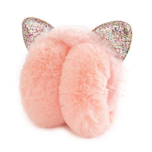 Lovely Earmuffs Plush Earmuff Warm Earmuffs Ear Protection For Kids [J]