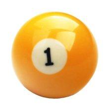 1 PCS Cue Sport Snooker USA Pool Billiard Balls 57.2 mm /2-1/4 - NO.1