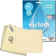 e-Cloth Shower Pack - 2 Microfibre Cleaning & Polishing Cloths - Uses Water Only