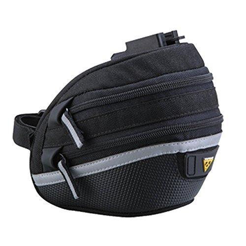 Topeak Wedge II Seat Pack - Black/Silver, Large