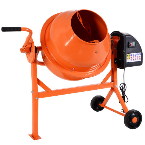 63L 220W Electric Concrete Cement Mixer