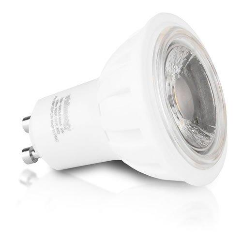 WHITENERGY LED Bulb 1x COB LED MR16 GU10 5W 230V White Warm (09817)