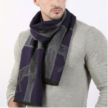 Mens Warm Winter Business Casual Scarf