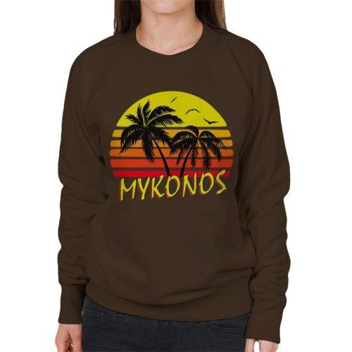 Mykonos Vintage Sun Women's Sweatshirt