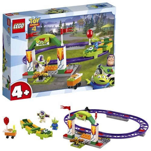 LEGO  Toy Story 4 Carnival Thrill Coaster - 10771
