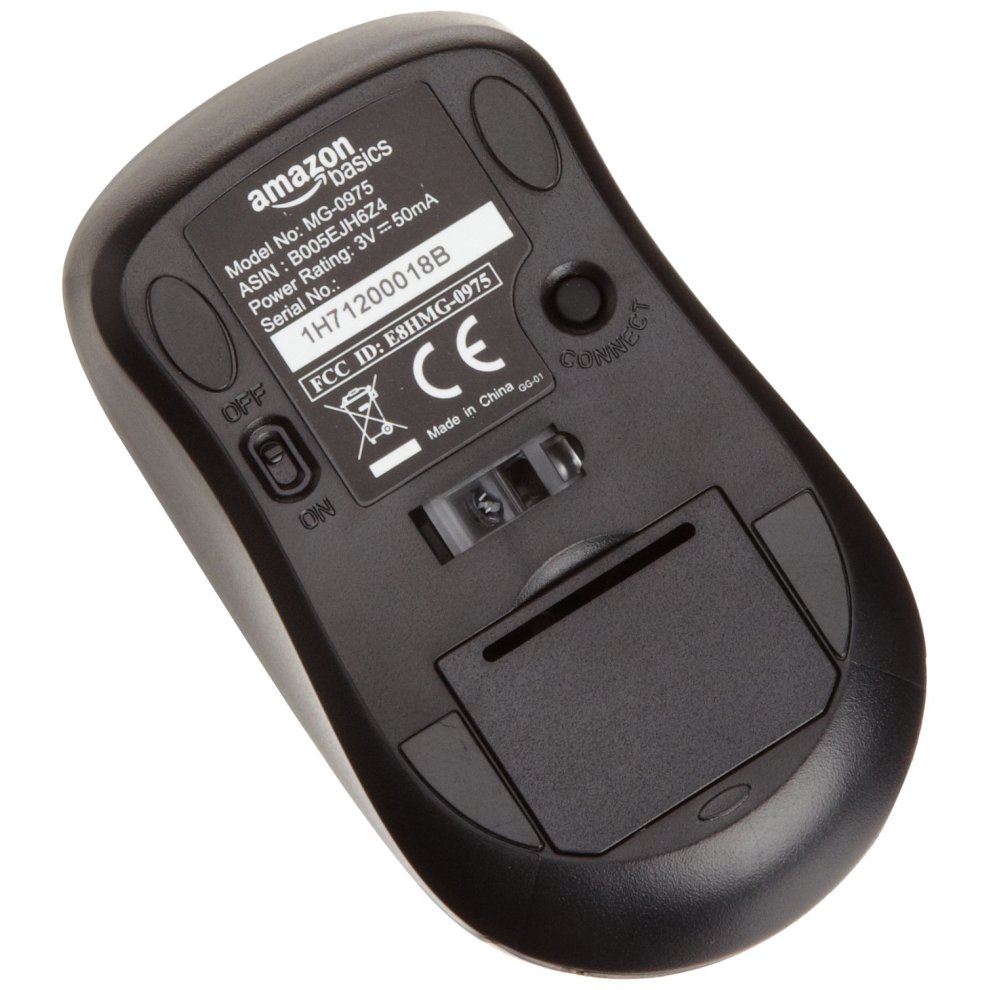 cbfbbb2c213 ... AmazonBasics Wireless Mouse with Nano Receiver Black - 2 ...