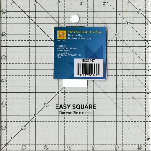 EZ Quilting Square Up-6.5 Clear