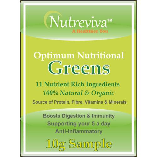 Nutreviva Optimum Nutritional Greens 10g Sample | Greens Supplement