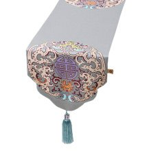 Chinese Style Elegant Table Runner Tablecloth Bed Flag Bed Runner, NO.3